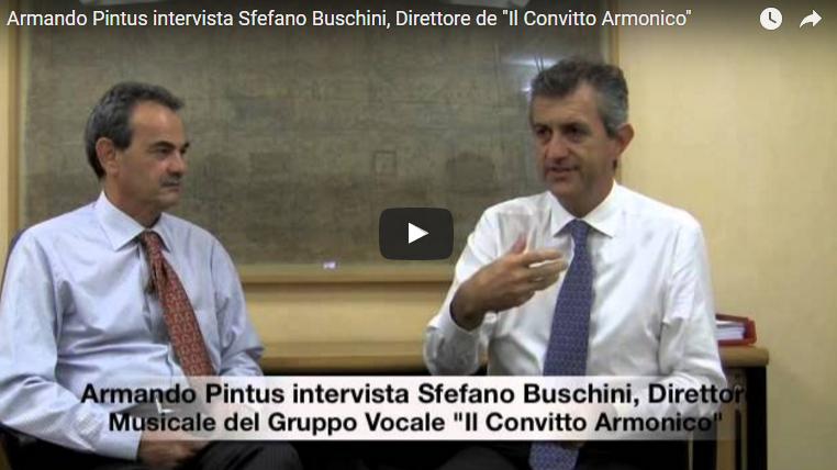 """Stefano Buschini, Direttore de """"Il Convitto Armonico"""" viene intervistato su """"Canta Che Ti Passa"""""""
